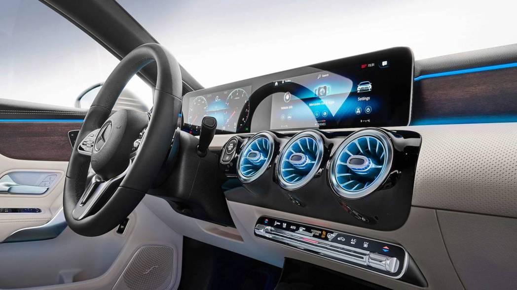 MBUX多媒體系統則是Mercedes近年主打的娛樂系統。 摘自Mercedes