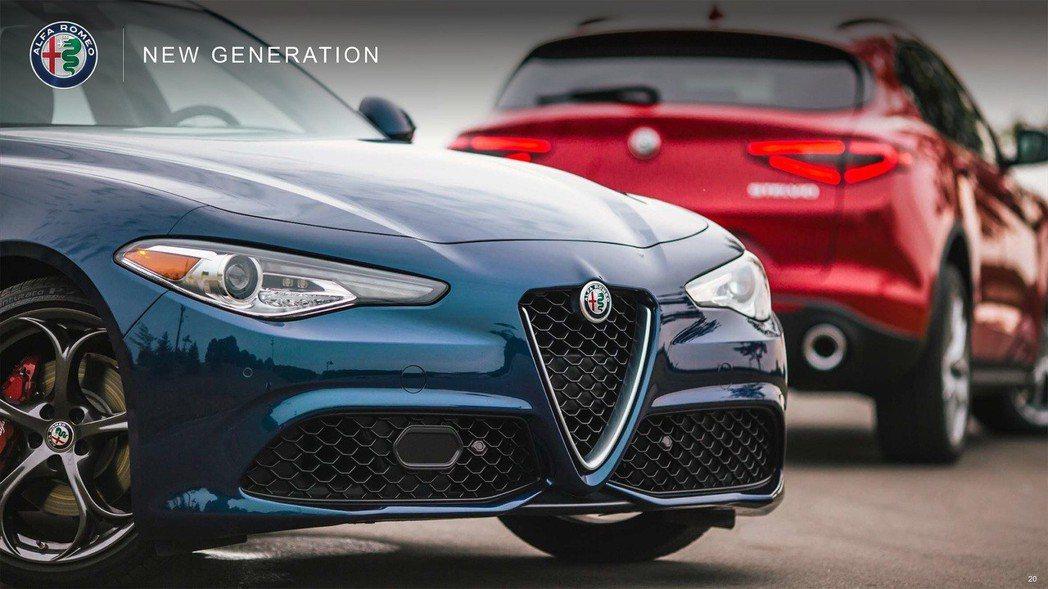 Alfa Romeo蓄勢待發,準備在四年內再推出兩款休旅車型。 摘自Alfa Romeo