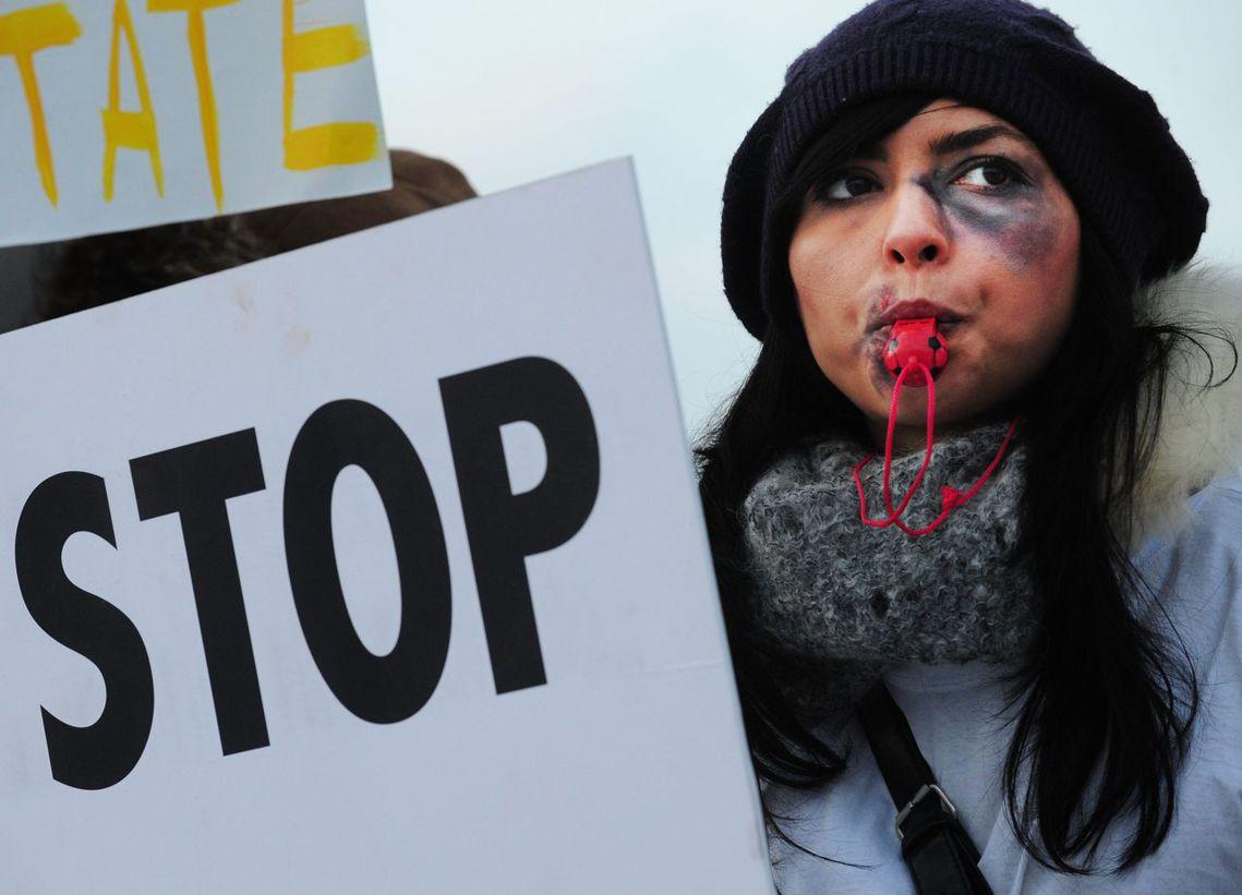 「這是受暴婦女的勝利!」 圖/路透社