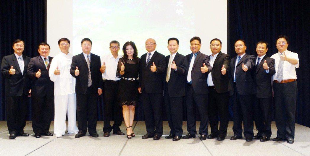 參與推介會的重要貴賓。 台灣區觀光協會聯合會/提供
