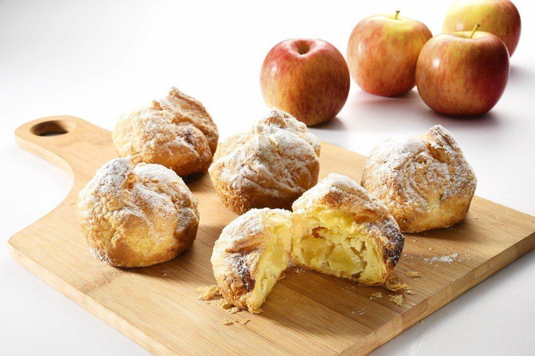 亞尼克嘉義中山店所推出嘉義限定款-富士蘋果千層酥。  業者/提供