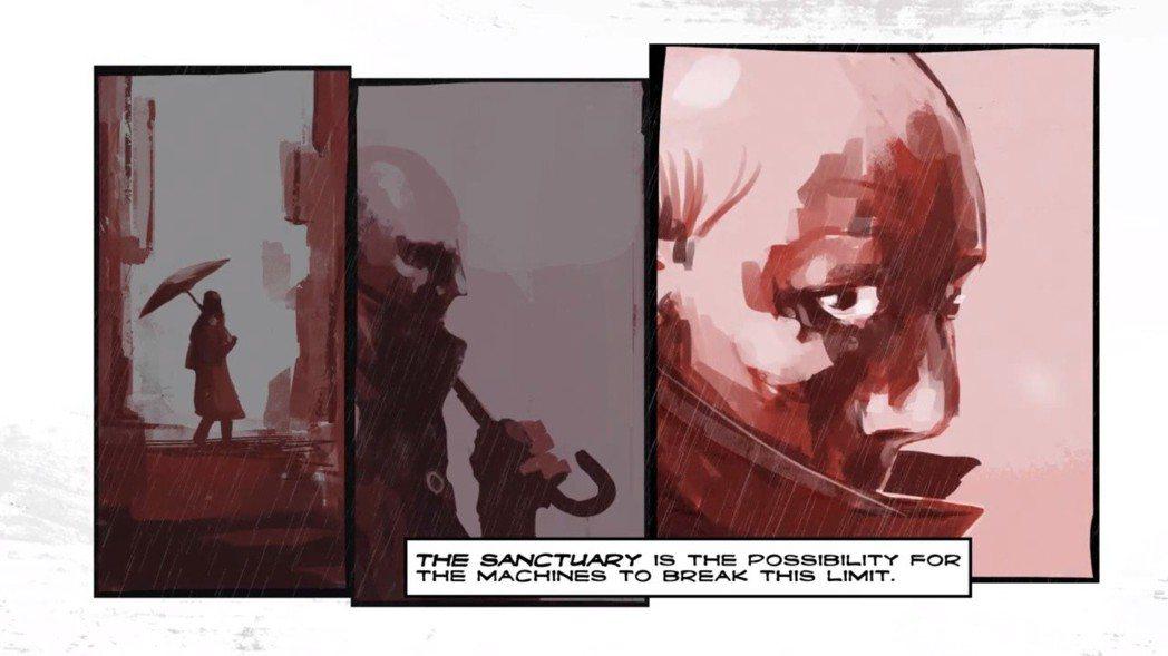▲《絕城逆戰》遊戲全程過場以漫畫運鏡方式呈現,別有一番風味。