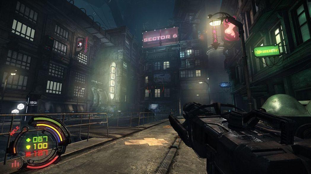 ▲Bezoar 是一座生化龐克風格的大城,也是遊戲主要舞台。