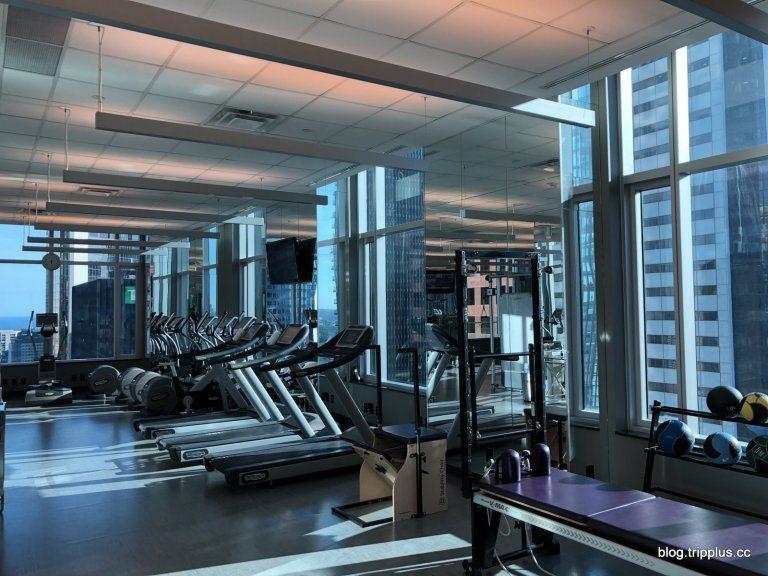 環繞在都市叢林的健身房 圖文來自於:TripPlus