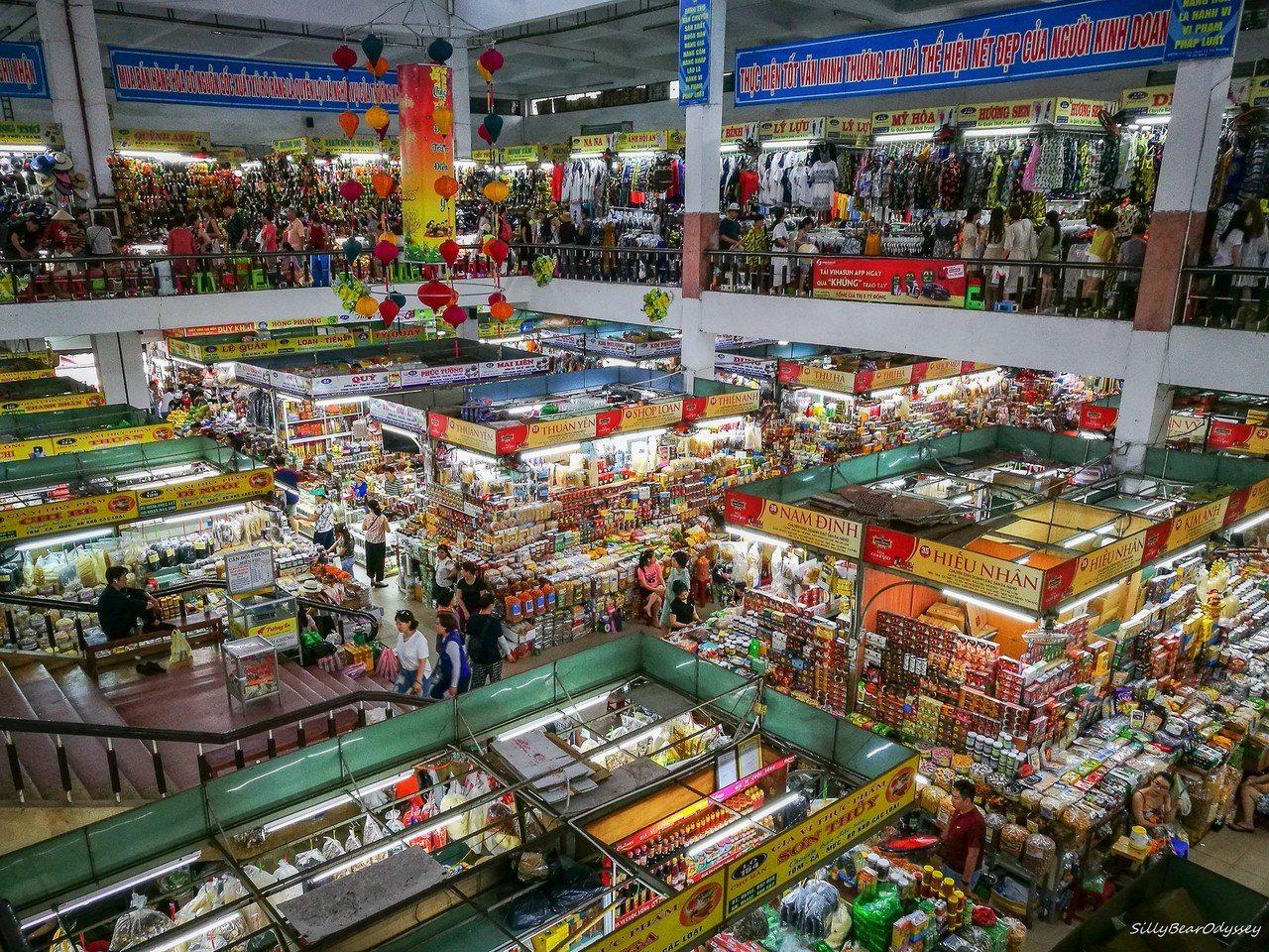 Han Market, Danang。 圖/背包客棧