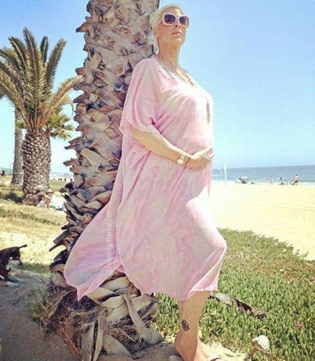 布莉姬尼爾森強調要想成功高齡懷胎,過程絕對不輕鬆。圖/摘自Instagram