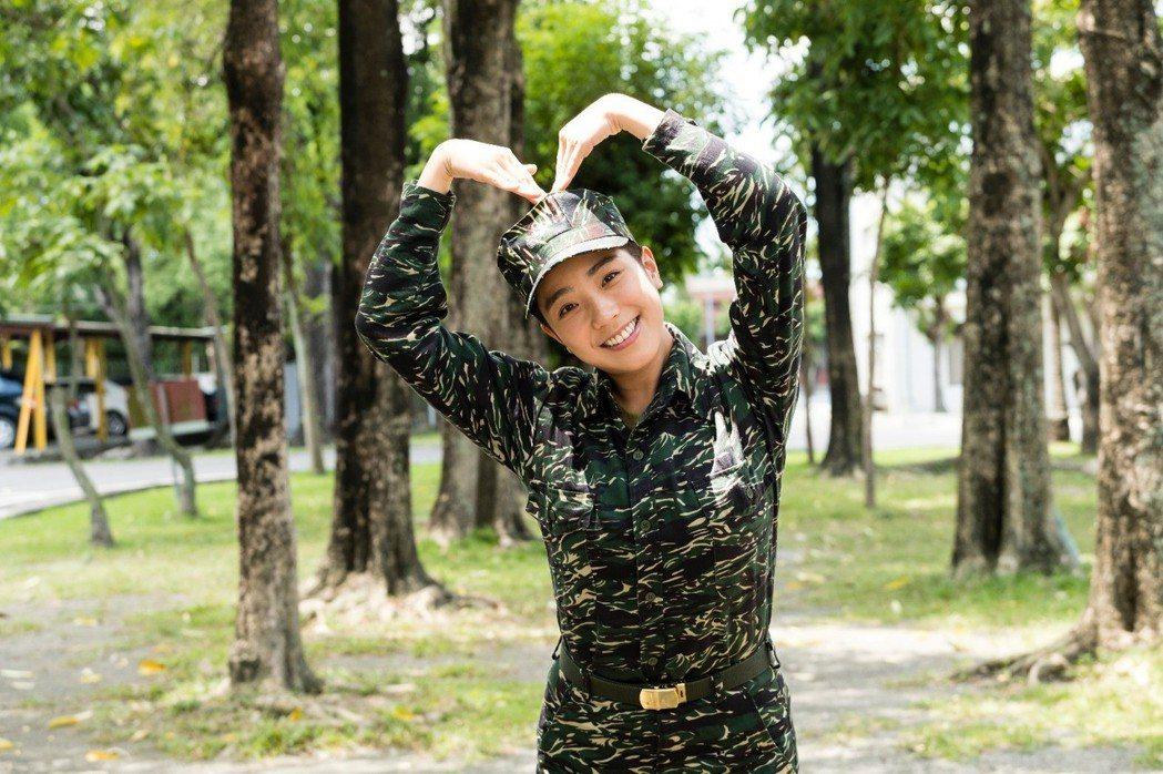 梁舒涵在「女兵日記」中飾演「素娥」一角受歡迎。圖/TVBS提供