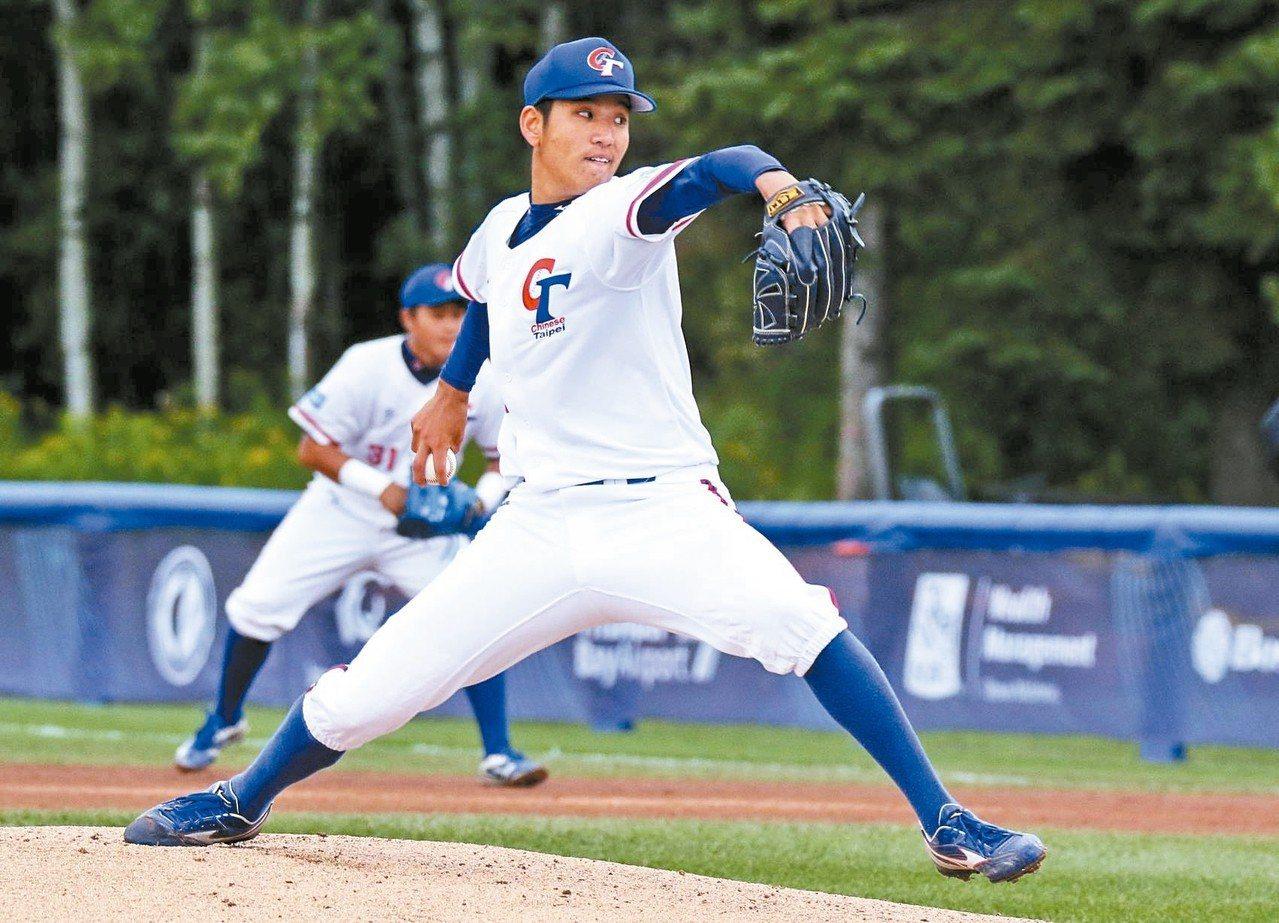 古林睿煬確定退出下周在日本宮崎舉行的亞洲青棒錦標賽。 圖/中華棒協提供