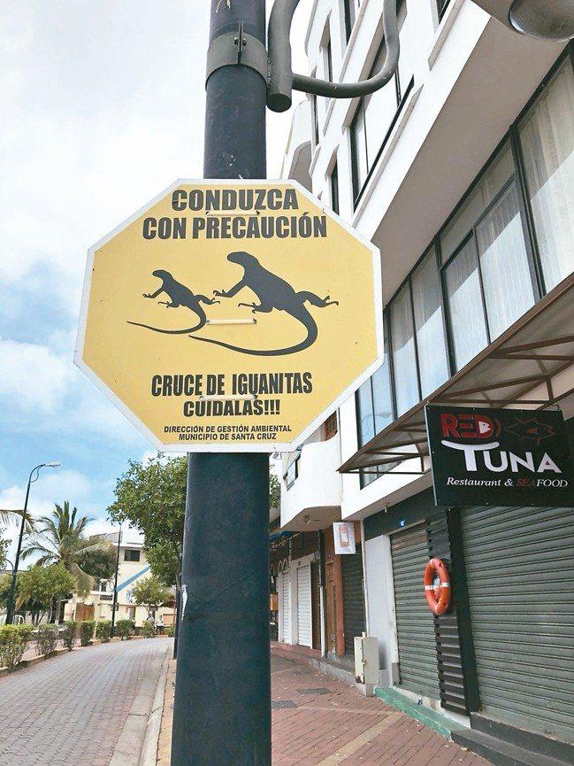 街上都是保育的警告標誌,可惜看不懂拉丁文。 圖/詹仁雄、海地玩家提供