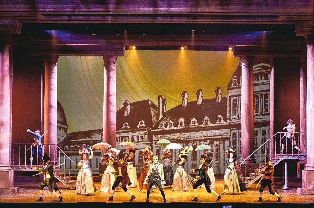 經典法文音樂劇「搖滾莫札特」將於10月11日至21日首度來台演出。 圖/聯合數位...
