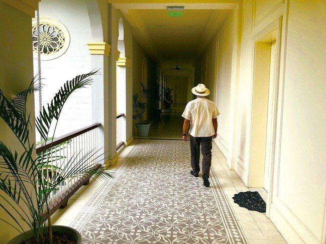 Hotel Delparque是此趟意外的好飯店,服務生的草帽可是必買商品之一。...