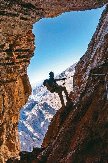 阿麗拉傑貝阿里阿赫達爾攀岩極具挑戰。 圖/各業者提供