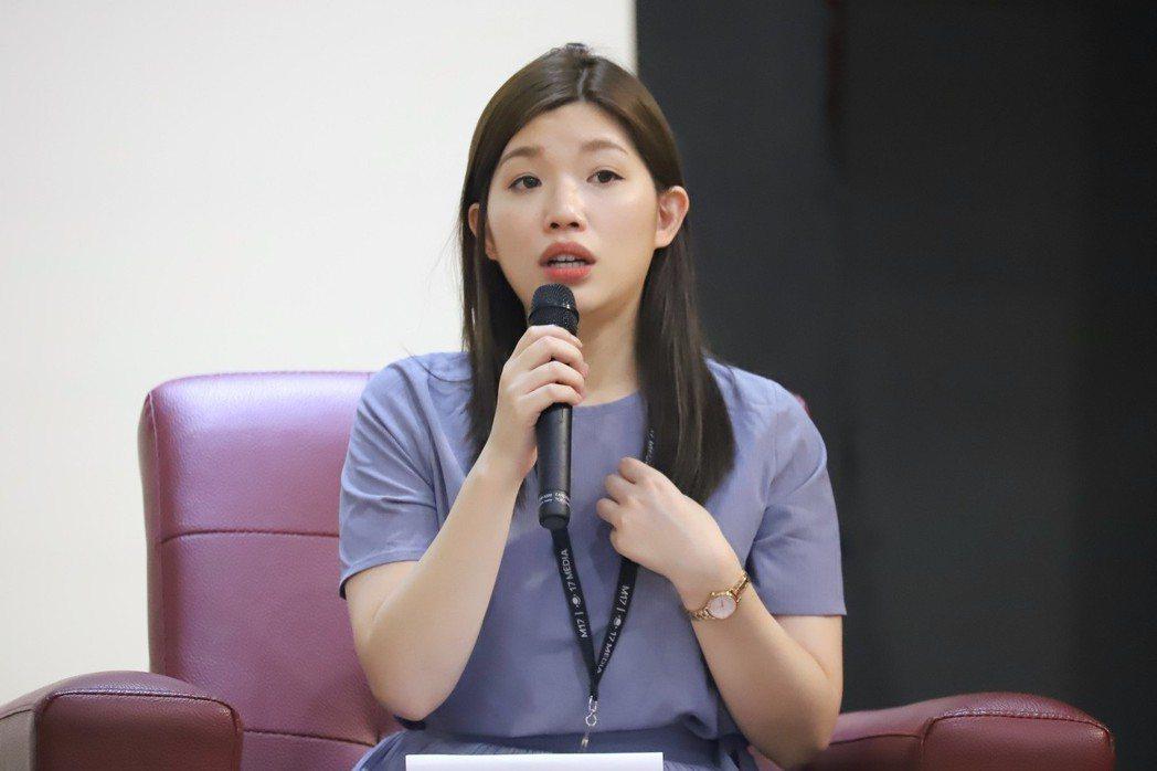 17 Media(直播)總監黃思嘉。 彭子豪/攝影