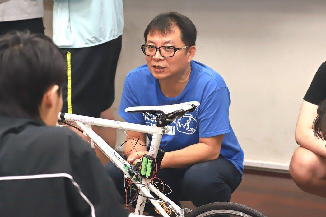 成功大學資訊工程學系暨研究所教授蘇文鈺。 彭子豪/攝影