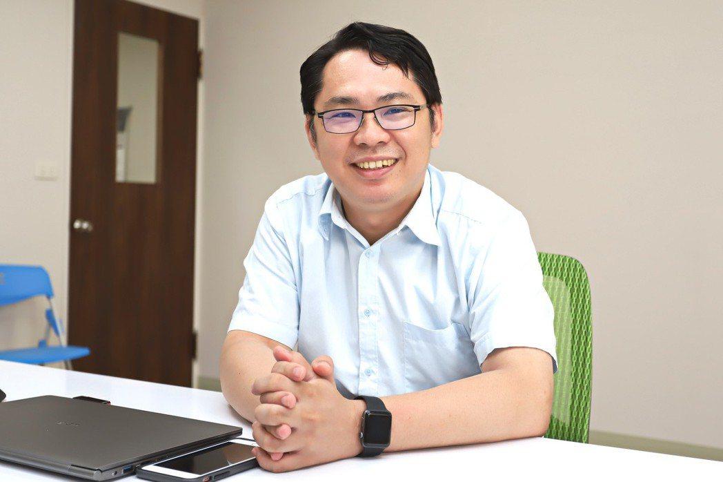 成功大學資訊工程學系副教授莊坤達。 彭子豪/攝影