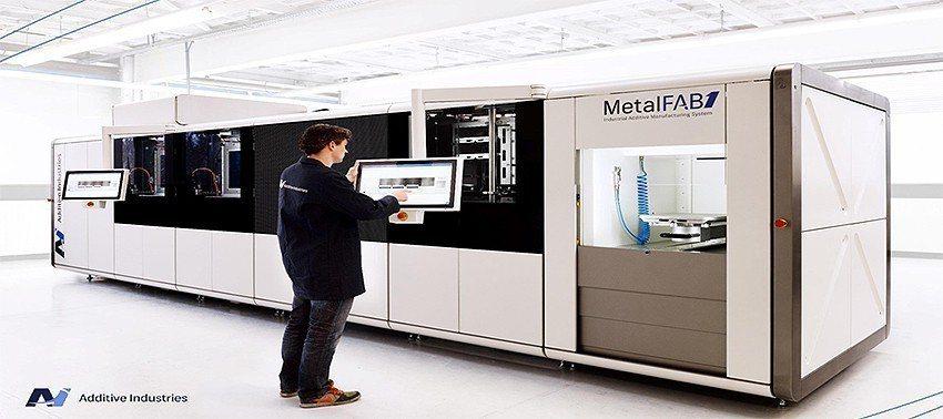 德芮達推出來自荷蘭的全自動化金屬積層設備-Additive Industries...