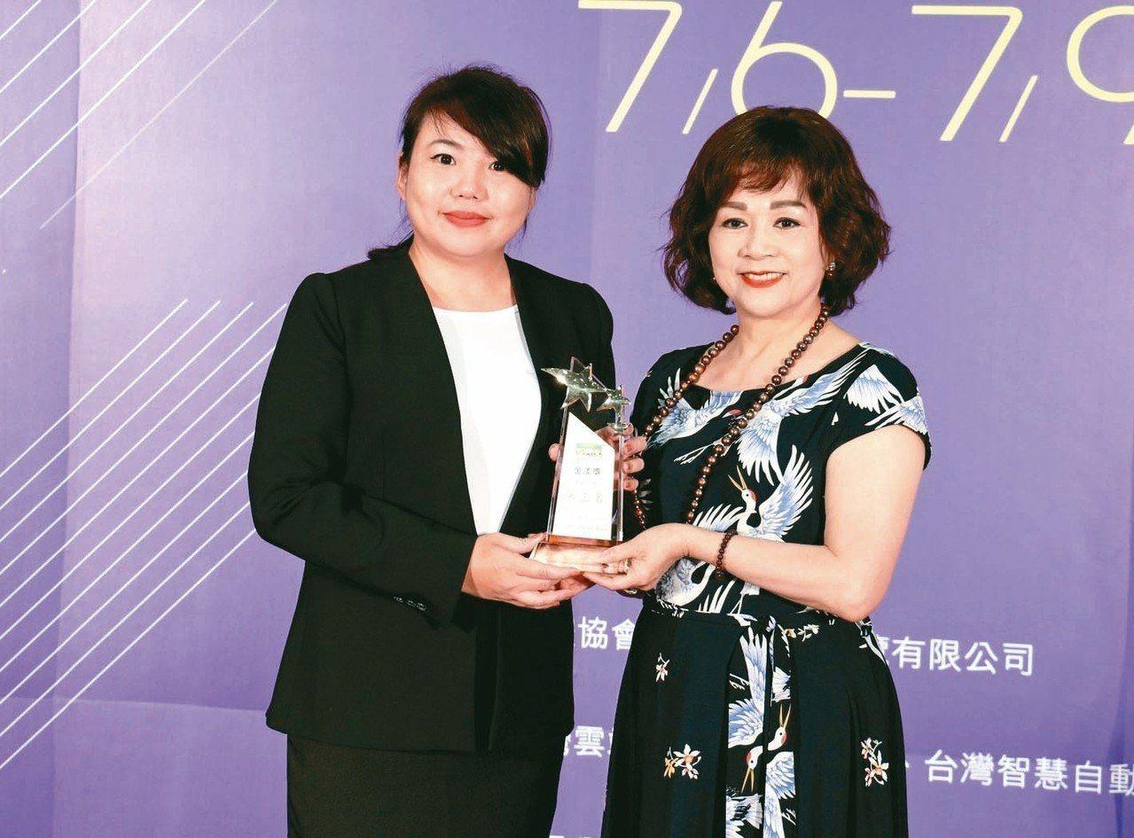 2018年《金漾獎》頒獎典禮於7月6日假台北世貿一館舉行,由國泰證券數位經營部黃...