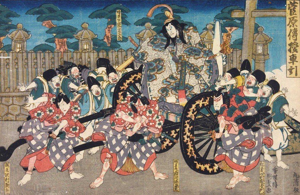 出現於江戶時代的歌舞伎劇目《菅原伝授手習鑑》,描繪的雖然是知名的菅原道真被中傷流...