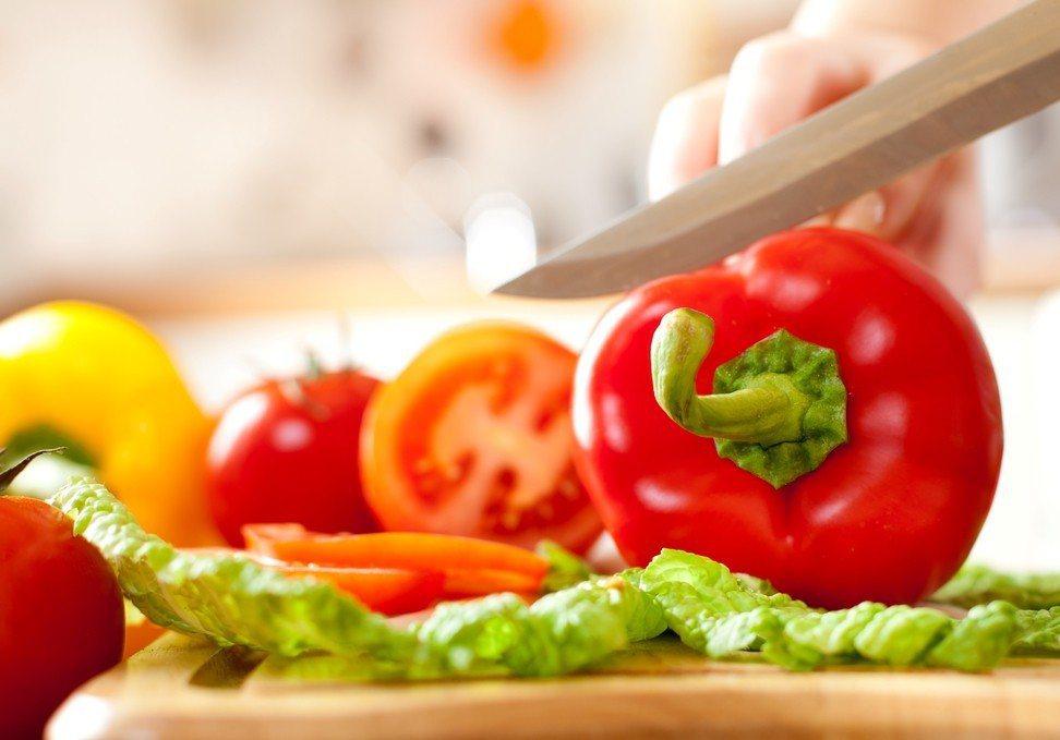 切菜示意圖。ingimage