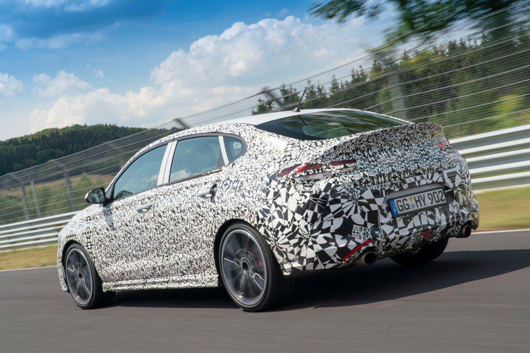 全新Hyundai i30 Fastback N將在今年底正式發表。 摘自Hyu...