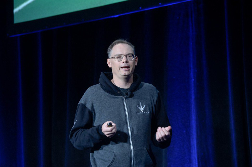 Epic Games 創辦人 Tim Sweeney。圖/截自 Official...