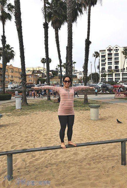 25週在洛杉磯聖塔莫妮卡的海灘 圖/背包客棧