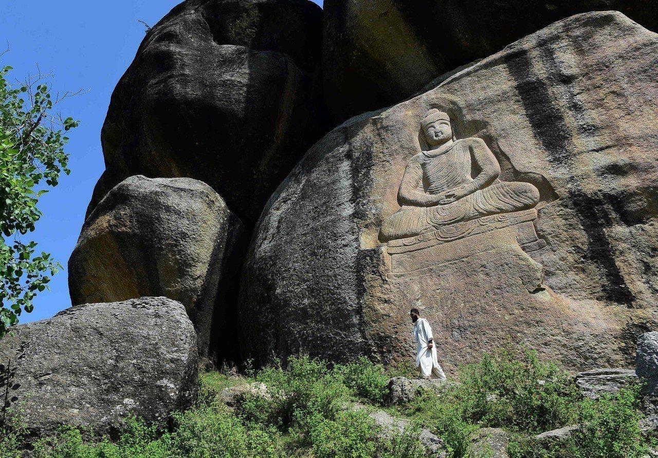 2007年被毀容的巴基斯坦斯瓦特大佛已經修復,巴國當局希望能藉此帶動當地的宗教旅...
