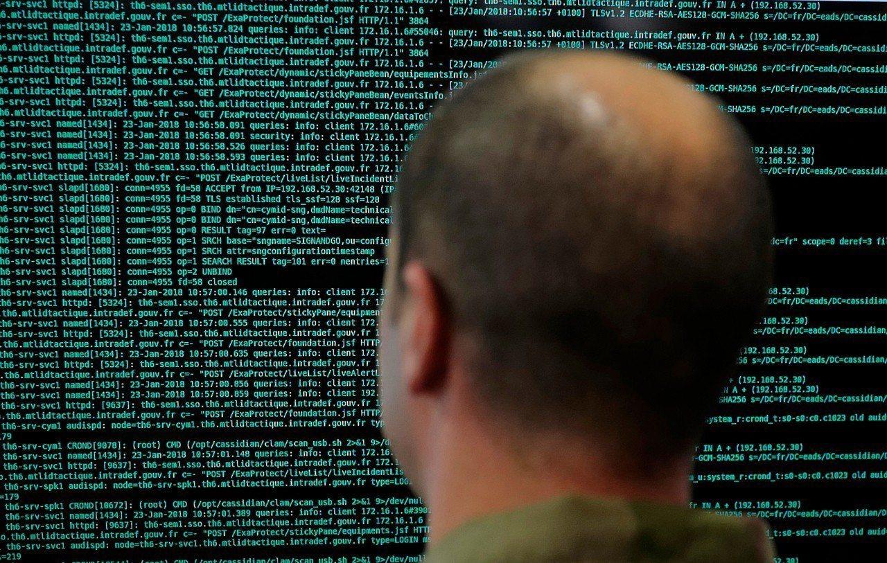 電腦程式碼示意圖。美聯社