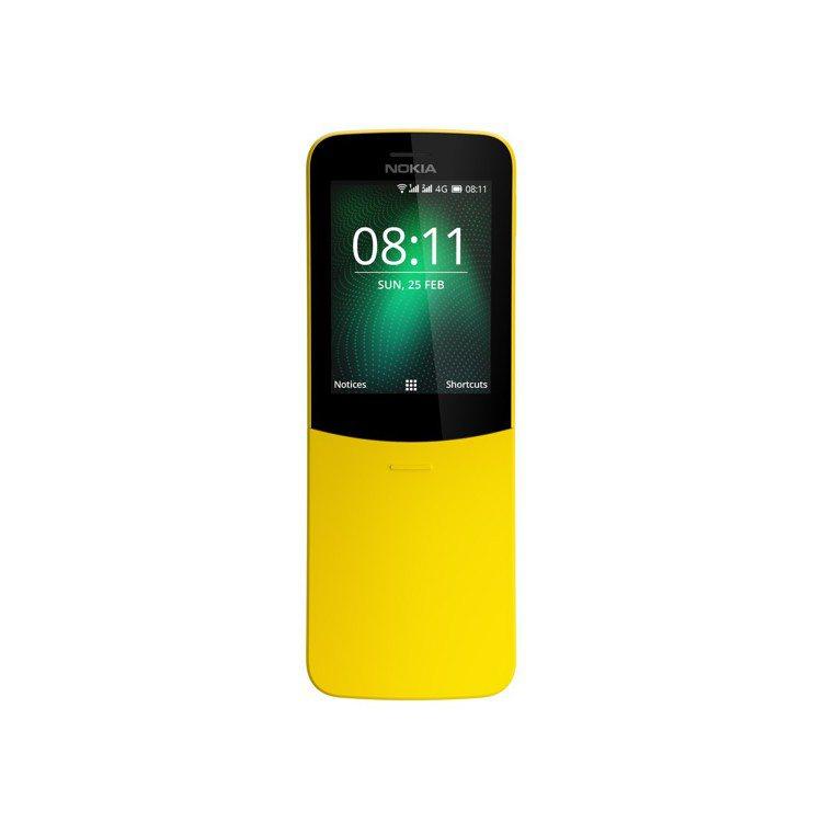 經典「香蕉機」Nokia 8110 4G復刻版回歸,支援4G上網和Wi-Fi熱點...