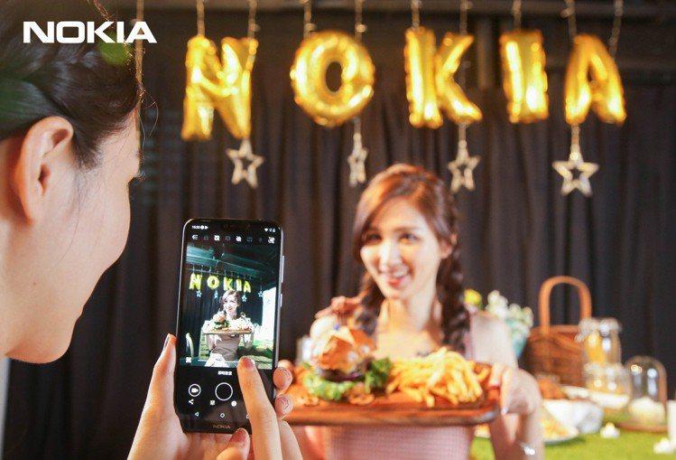 Nokia 6.1 Plus搭載1,600萬畫素+500萬畫素雙主鏡頭,拍出豐富...