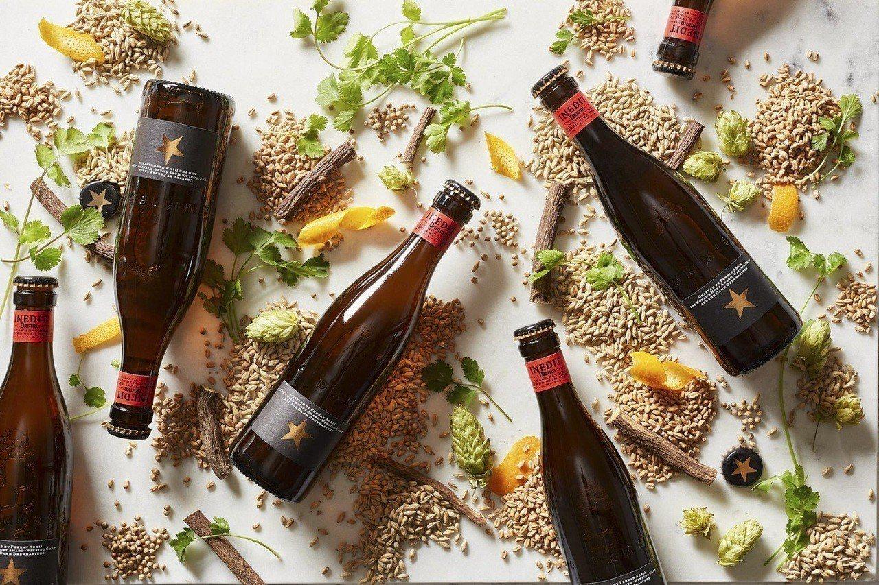 INEDIT DAMM 西班牙金星啤酒。圖/誠品生活提供 ※ 提醒您:禁止...