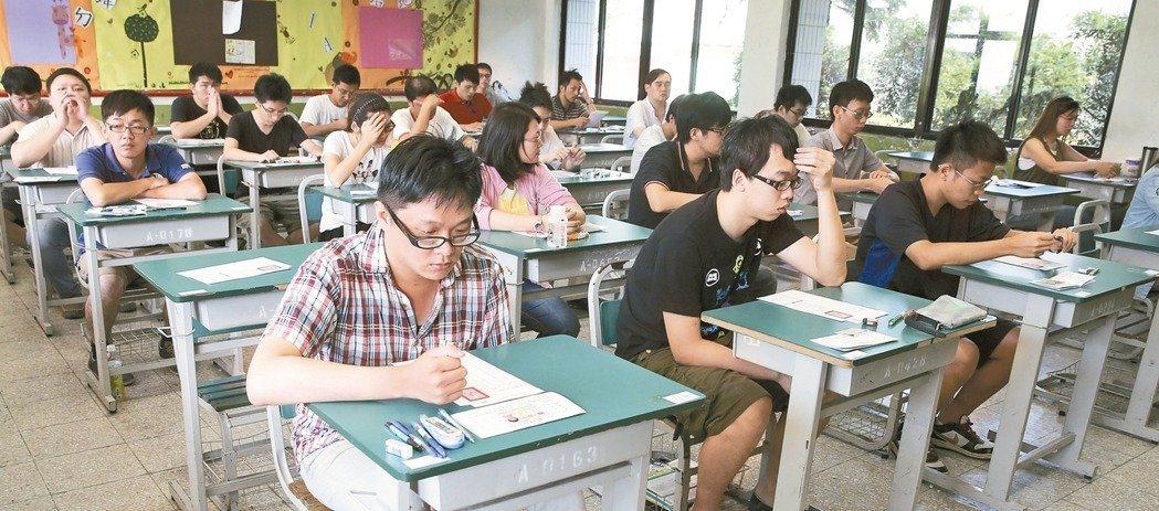 地方特考12月將登場,考選部公布暫定考試類科。 圖/聯合報系資料照片