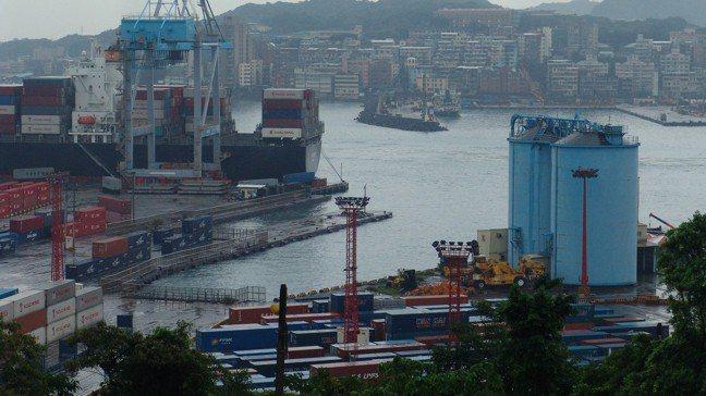 基隆港營運規模擴大,帶動中櫃整體營運效能。 報系資料照片