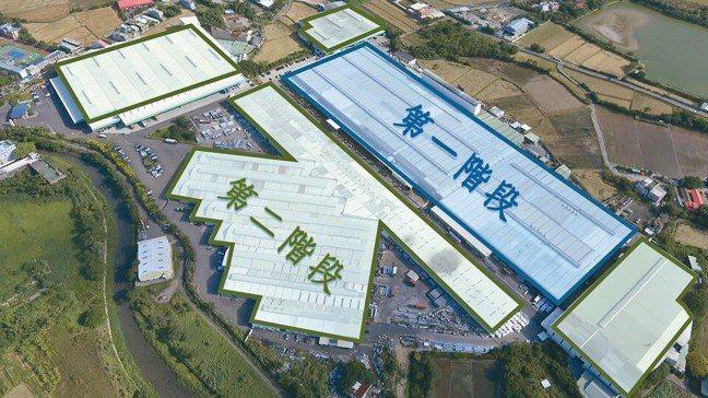 「桃園新屋創新園區綠能光電系統」工程設置位置圖。 台灣金聯/提供
