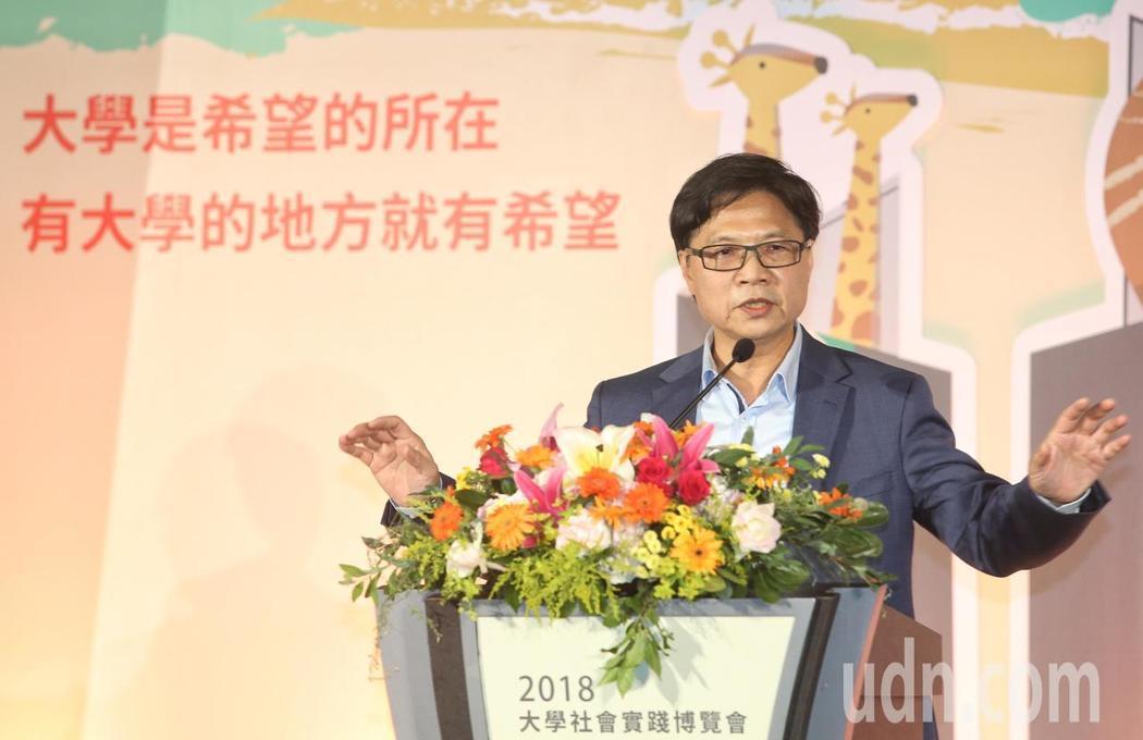 教育部長葉俊榮。記者鄭清元/攝影