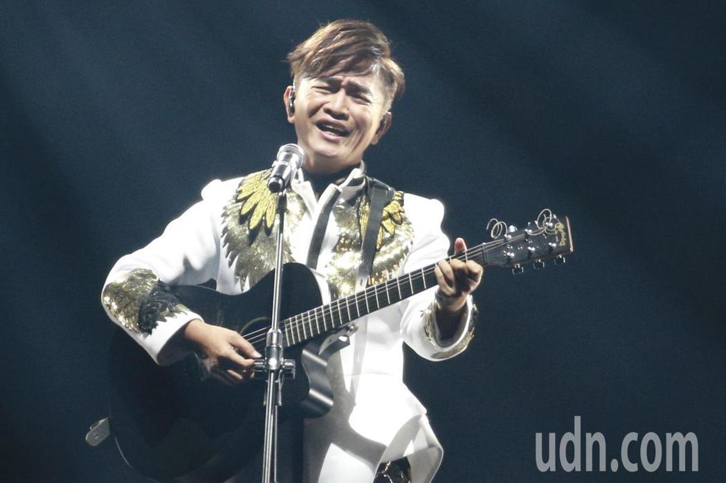 吳宗憲晚上在台北小巨蛋舉行演唱會。記者林伯東/攝影