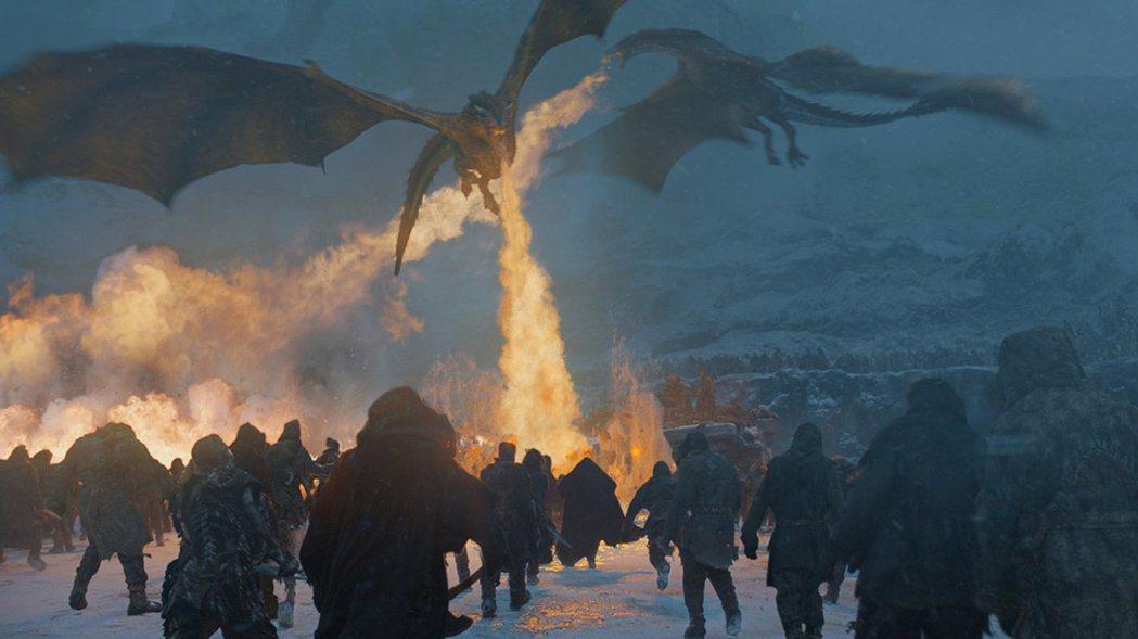 「冰與火之歌:權力遊戲」的結局劇情深受各方矚目。圖/摘自HBO