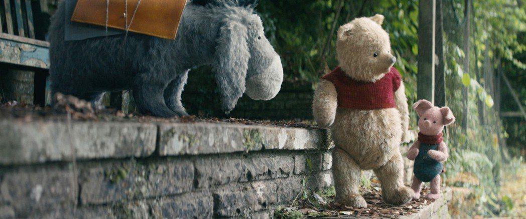 「小熊維尼」與眾家動物好友是「摯友維尼」最搶眼的焦點。圖/迪士尼提供