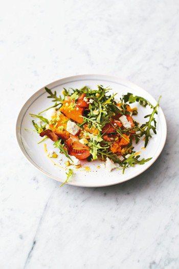 番薯沙拉 SWEET POTATO SALAD 圖╱摘自三采出版《傑米.奧利佛的...