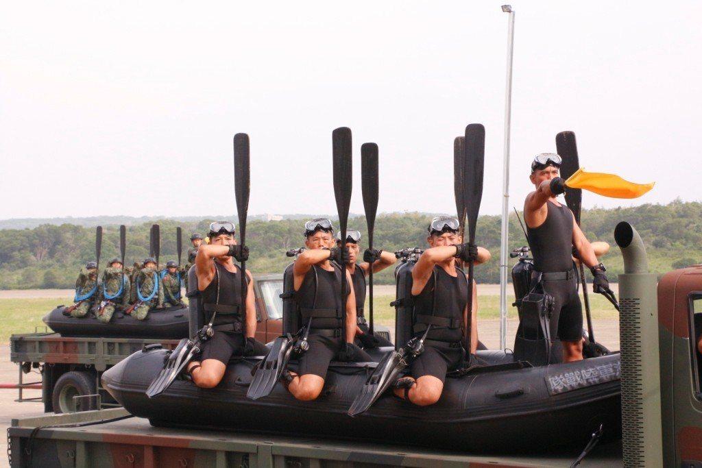 海軍陸戰隊兩棲偵搜大隊。圖╱國防部提供