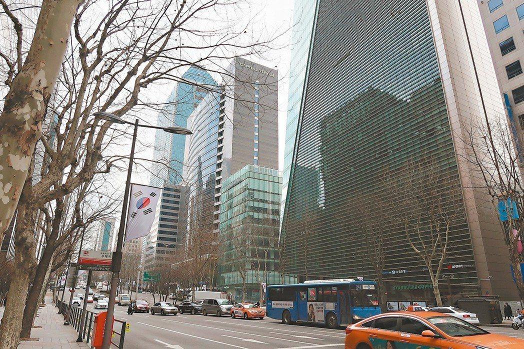 首爾江南區辦公大樓