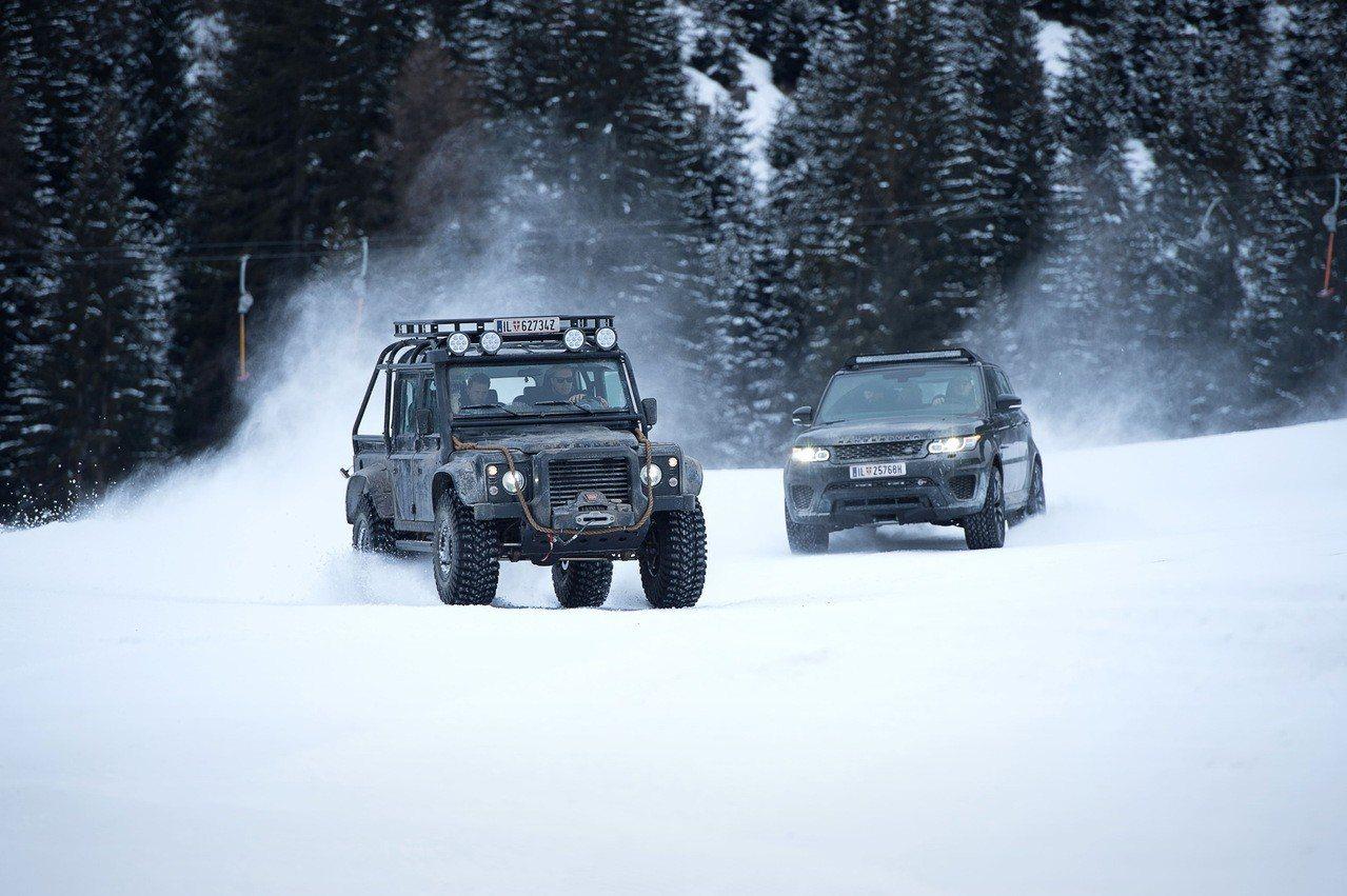 Jaguar 和 Land Rover已經在 9 部龐德電影中出演。圖/JAGU...