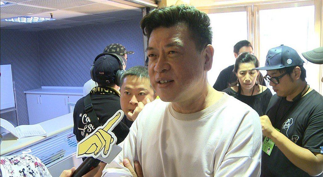 孫德榮有意力拱吳宗憲參選台北市長。記者林士傑/攝影