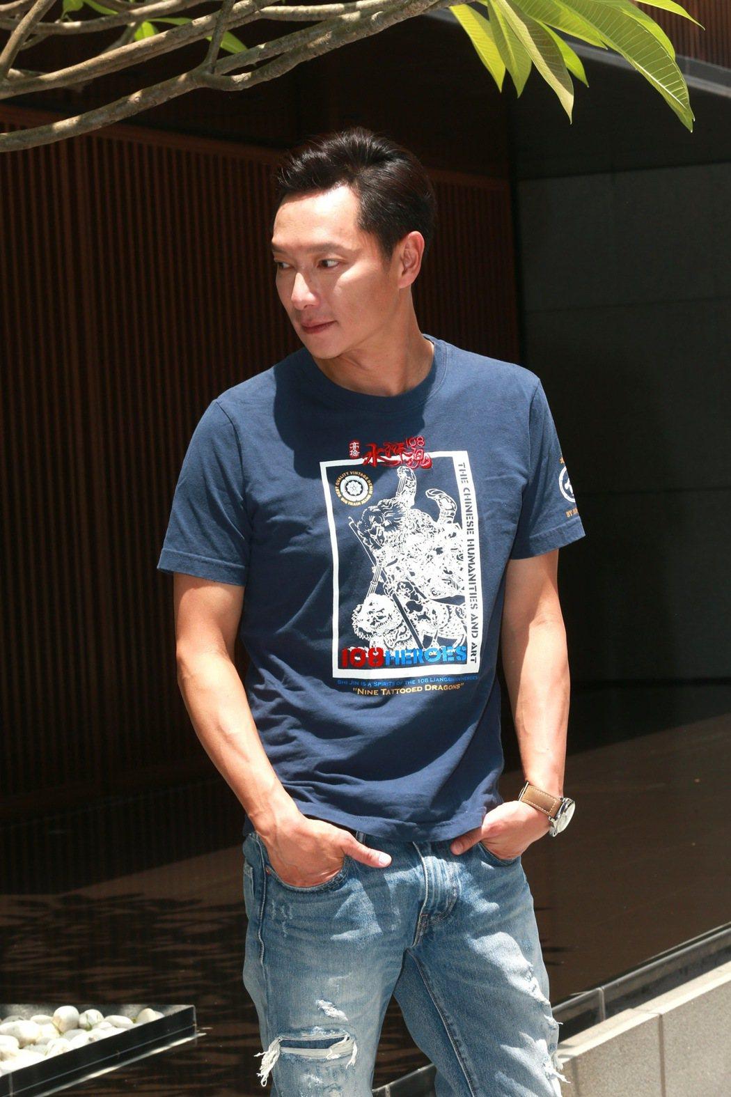 謝祖武暌違17年再度接演「麻辣鮮師」電影版。記者黃義書/攝影