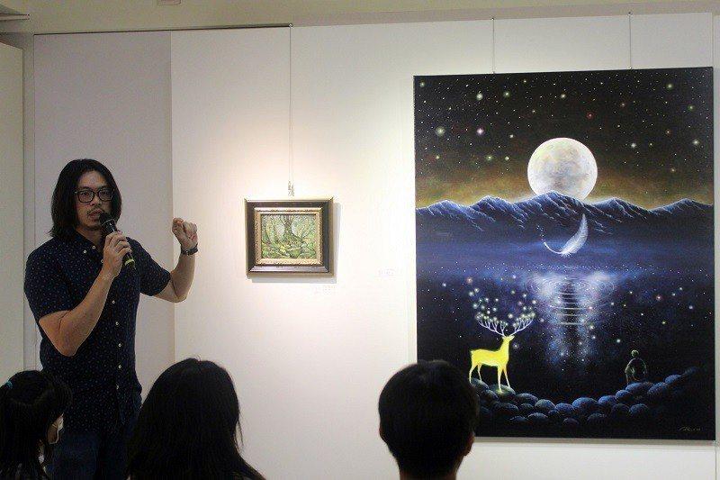 1979年出生於臺中的藝術家–海至。 國璽藝術/提供