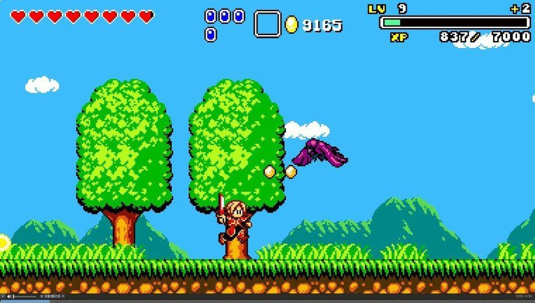 Aggelos是一款受到《神奇男孩》啟發而製作出的復古風2D動作遊戲,裡面有許多...