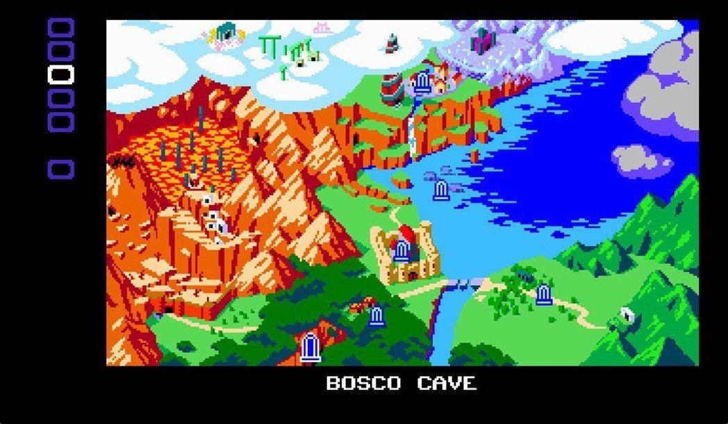 遊戲也有快速移動的設計,透過存檔點的傳送功能,就可以在廣大的各區快速移動。