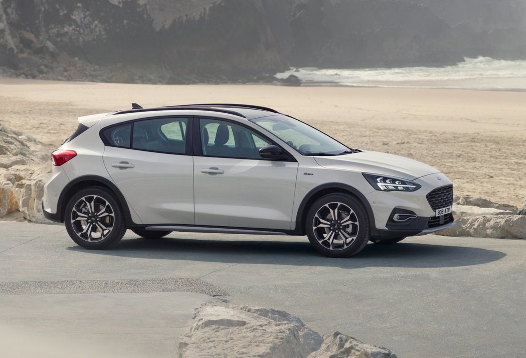 美國只會販售Focus Active車型,其餘車型一律不導入。 摘自Ford