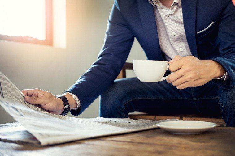 喝茶、咖啡示意圖。ingimage