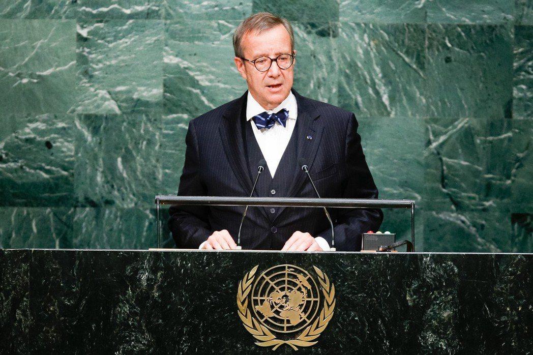 推動北歐路線的堅定舵手,就是近日來台演講的愛沙尼亞前總統易維斯。 圖/聯合國